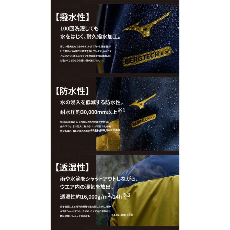 ミズノ mizuno ベルグテックEXストームセイバーVI レインスーツ[メンズ] A2MG8A01 送料無料 sarisa 04