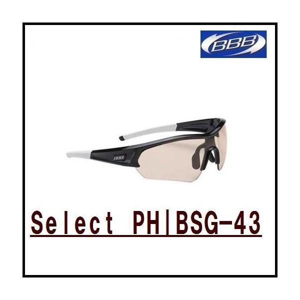 BBB(ビービービー)BSG-43 セレクト Select / ブラック /スモークフラッシュミラー (131170)