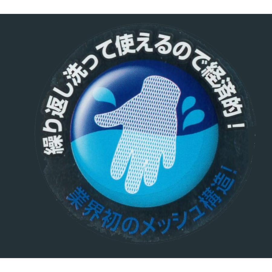 メッシュインナー手袋 E・X・E エグゼ メッシュ クラレ クラレトレーディング 切ってもほつれにくい インナー手袋 6双 12枚セット satanisyouji 05