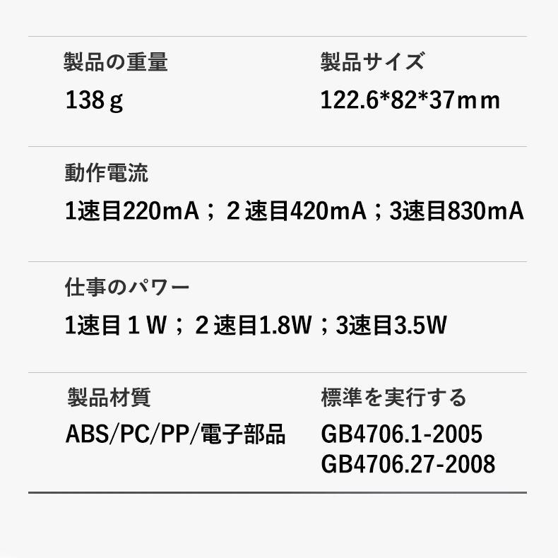 扇風機 首かけ扇風機 ミニ扇風機 ハンズフリー 首掛け ファン ネッククーラー ハンディファン 小型 軽量 充電式 携帯扇風機 熱中症対策 送料無料|sato-daiki|19
