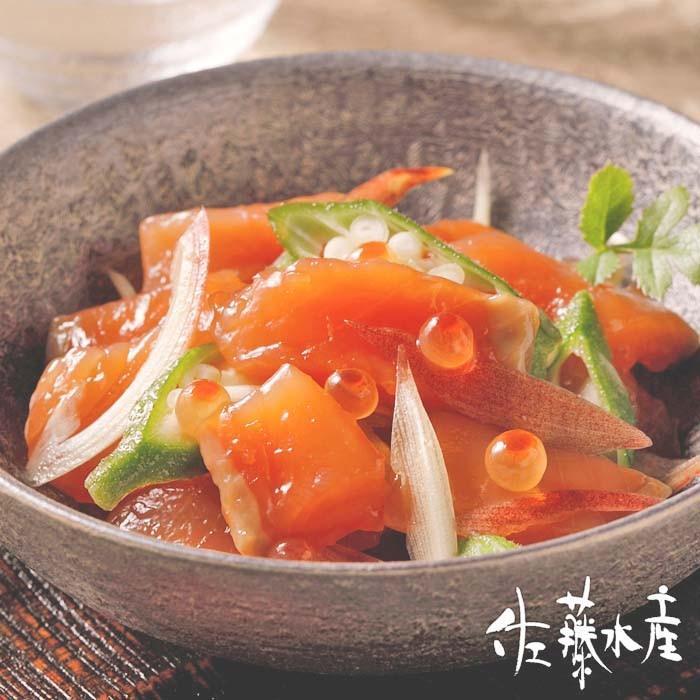 鮭ルイベ漬 PH容器400g|sato-suisan-shop|06