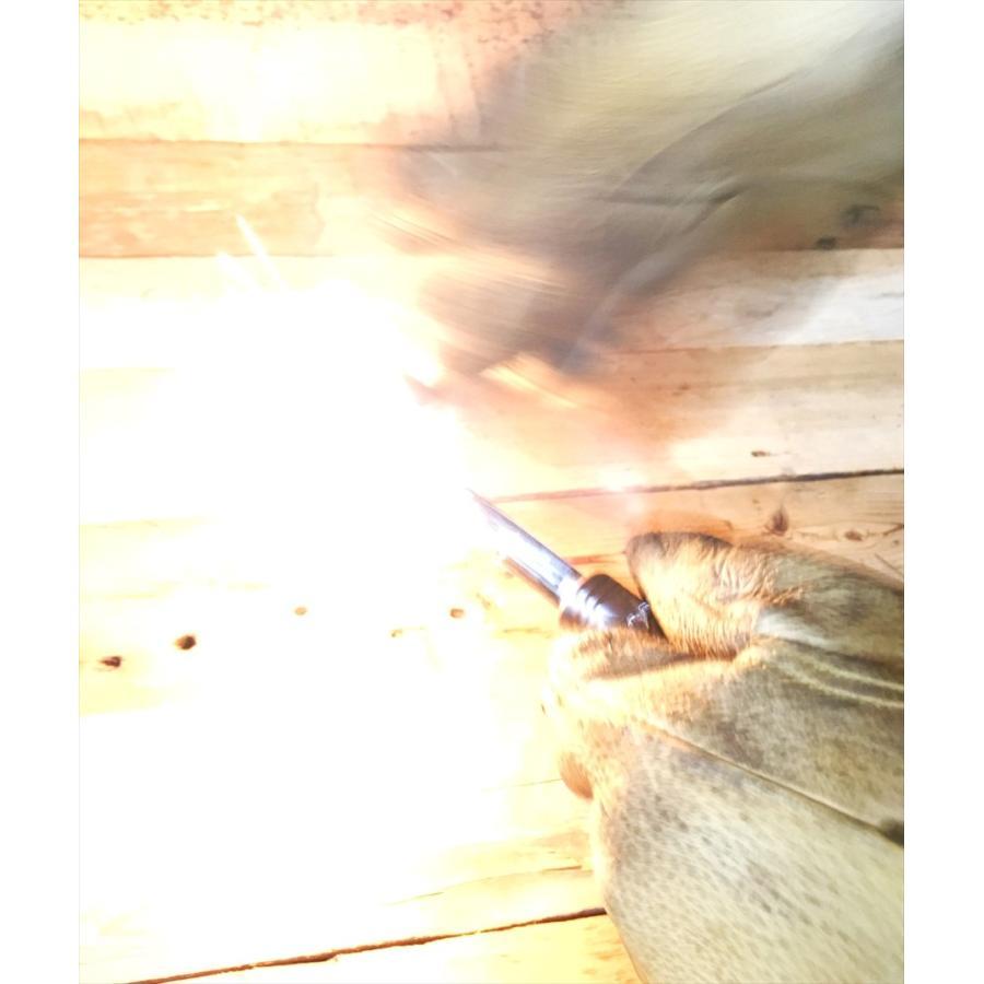 【送料無料】真鍮ハンドルメタルマッチ「野良スティックmini」10mm径 ※ストライカー1点付属 焚き火・野営・ブッシュクラフトに|satozaki-material|03