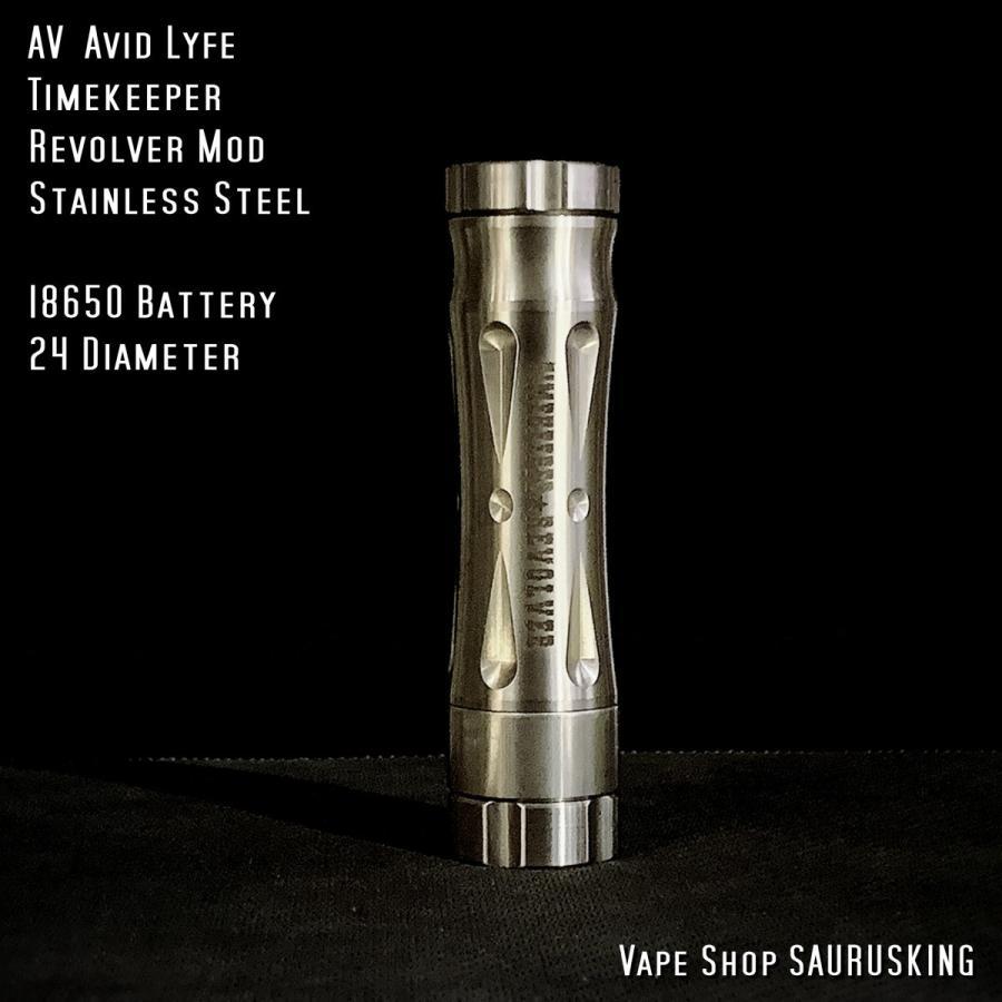 AV Avid Lyfe Timekeeper Revolver Mod / アヴィッドライフ タイムキーパー リボルバー モッド*USA正規品* VAPE|saurusking|02