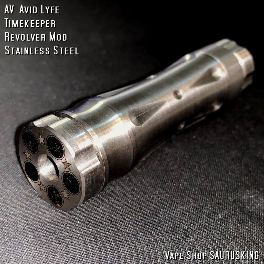 AV Avid Lyfe Timekeeper Revolver Mod / アヴィッドライフ タイムキーパー リボルバー モッド*USA正規品* VAPE|saurusking|04