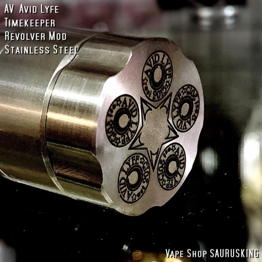 AV Avid Lyfe Timekeeper Revolver Mod / アヴィッドライフ タイムキーパー リボルバー モッド*USA正規品* VAPE|saurusking|06