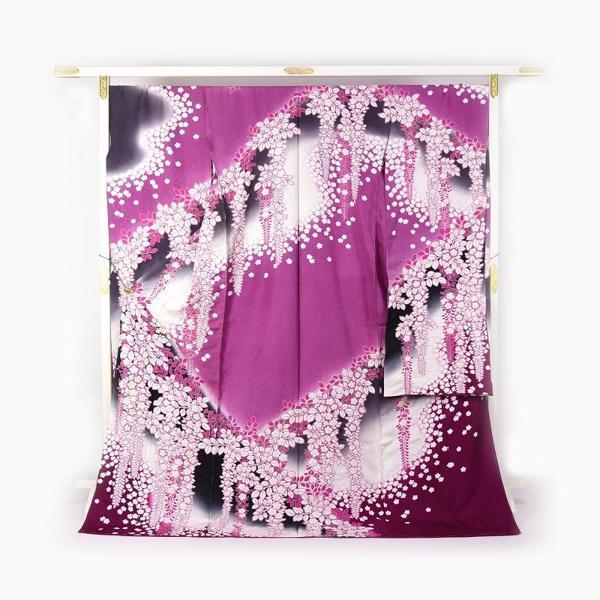 超爆安 振袖 手縫いお仕立て付き 十日町友禅「滝泰」謹製 ふりおぼろ 藤尽くしに桜 紫色 裄74.5cm位まで成人式・卒業式・謝恩会・結婚式・披露宴・初釜・パ, チクシノシ:d3f7514a --- chizeng.com