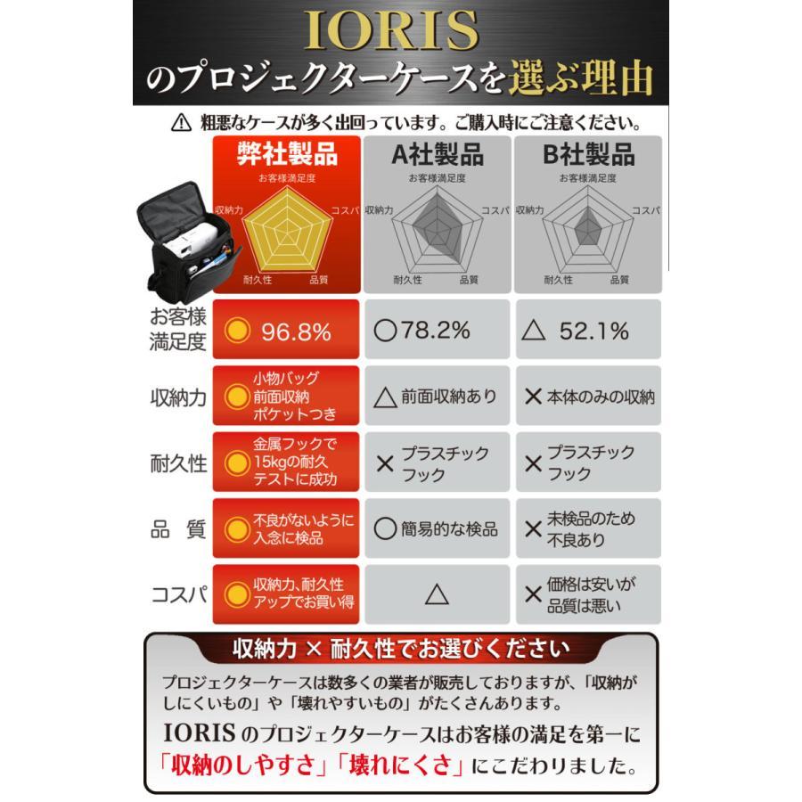 エプソン対応プロジェクターケース 耐衝撃キャリングケース 収納力アップモデル EB-W06、EB-X06、EB-E01など対応 sazanami-store 07