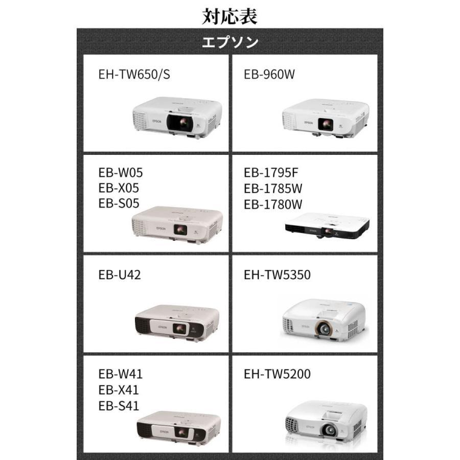エプソン対応プロジェクターケース 耐衝撃キャリングケース 収納力アップモデル EB-W06、EB-X06、EB-E01など対応 sazanami-store 08