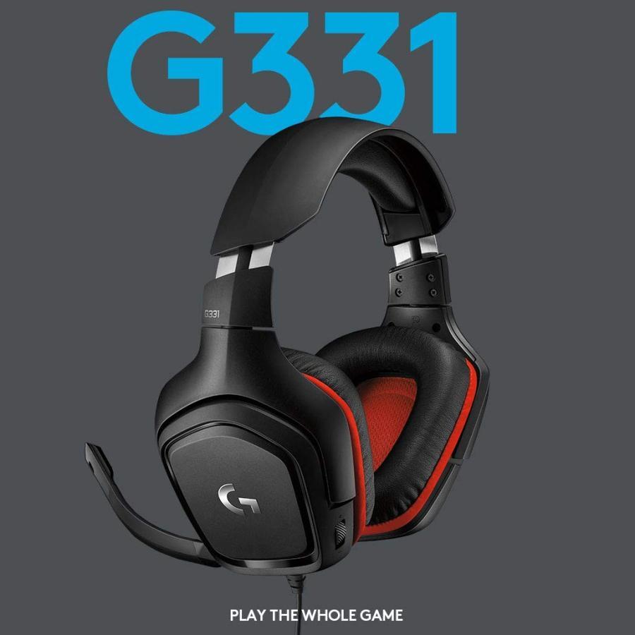 ロジクール ヘッド セット g331 【開封レビュー】ロジクール ステレオゲーミングヘッドセットG331【logicool】