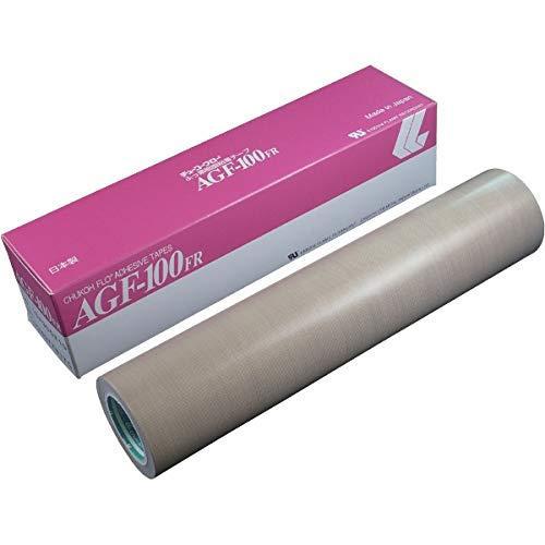 中興化成 チューコーフロー 粘着テープ ガラスクロス 0.18-300×10 AGF100FR18X300