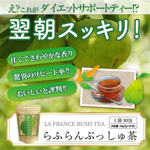 ダイエット 茶 キャンドルブッシュ ラフランス 30包  送料無料|sazankaen
