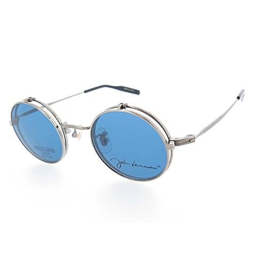 ジョンレノン(John Lennon) 跳ね上げサングラス JL-1068(col.2シルバーグレー,超薄型非球面レンズ)