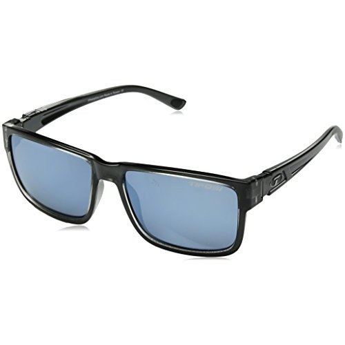 Tifosi Hagen XL 2.0 Sunglasses, Crystal Smoke, 54.5mm