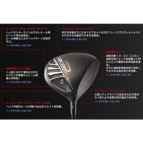高反発モデルワークスゴルフ MILLION DRAW ドライバー9.5°・Sシャフトミリオンドロー WORKS