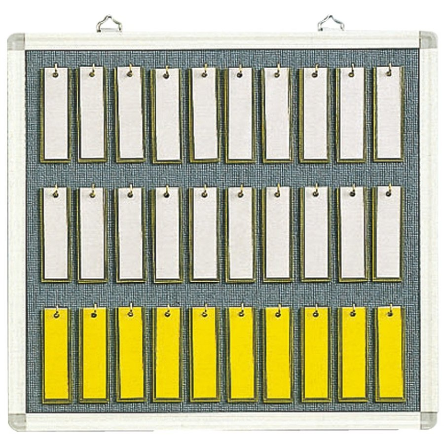 クラウン 名札掛け CR-NF3K 30名用 - 文具・事務用品のエス・ビ・ディ