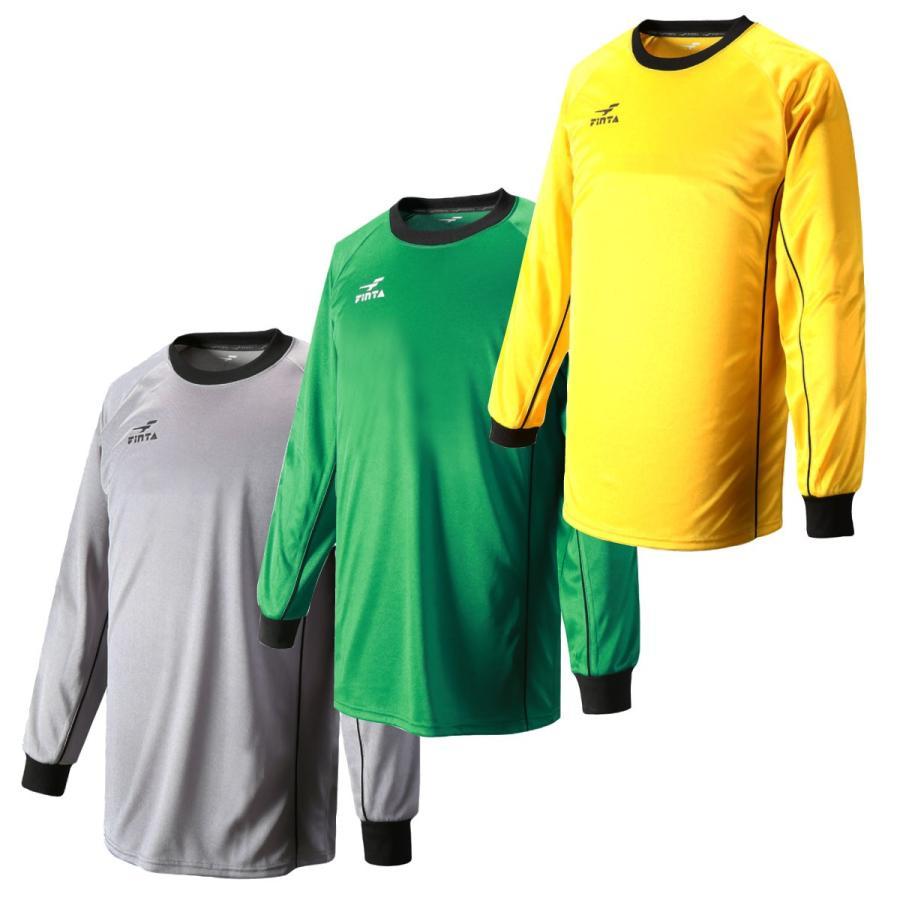 お買い得 在庫限り フィンタ FINTA サッカー・フットサル キーパーシャツ FT5137|sblendstore