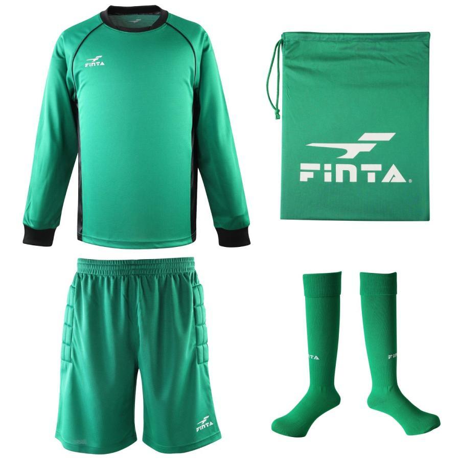送料無料 フィンタ FINTA サッカー フットサル ゴールキーパー ウェア 3点セット FT5159 sblendstore 09