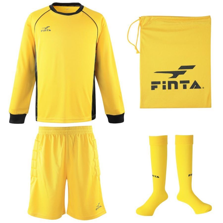 送料無料 フィンタ FINTA サッカー フットサル ゴールキーパー ウェア 3点セット FT5159 sblendstore 24