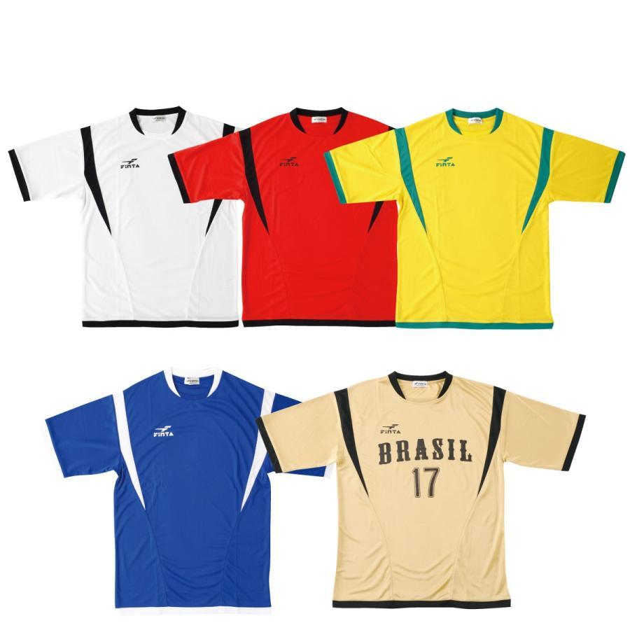 フィンタ FINTA サッカー・フットサル ジュニアゲームシャツ FT5753|sblendstore