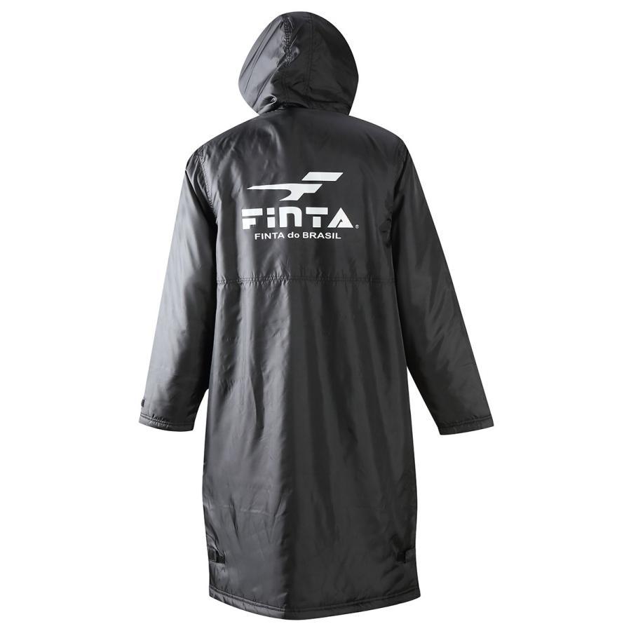 送料無料 フィンタ FINTA サッカー フットサル ボア ベンチコート  FT5815|sblendstore|03