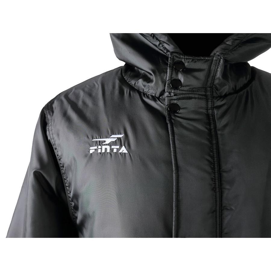 送料無料 フィンタ FINTA サッカー フットサル ボア ベンチコート  FT5815|sblendstore|06