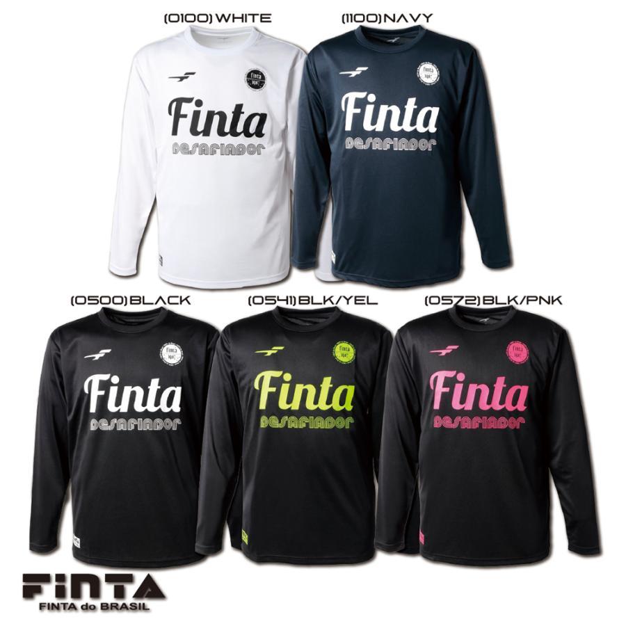 送料無料 FINTA フィンタ サッカー フットサル CAMPO L/S 長袖 プラクティスシャツ FT8620|sblendstore