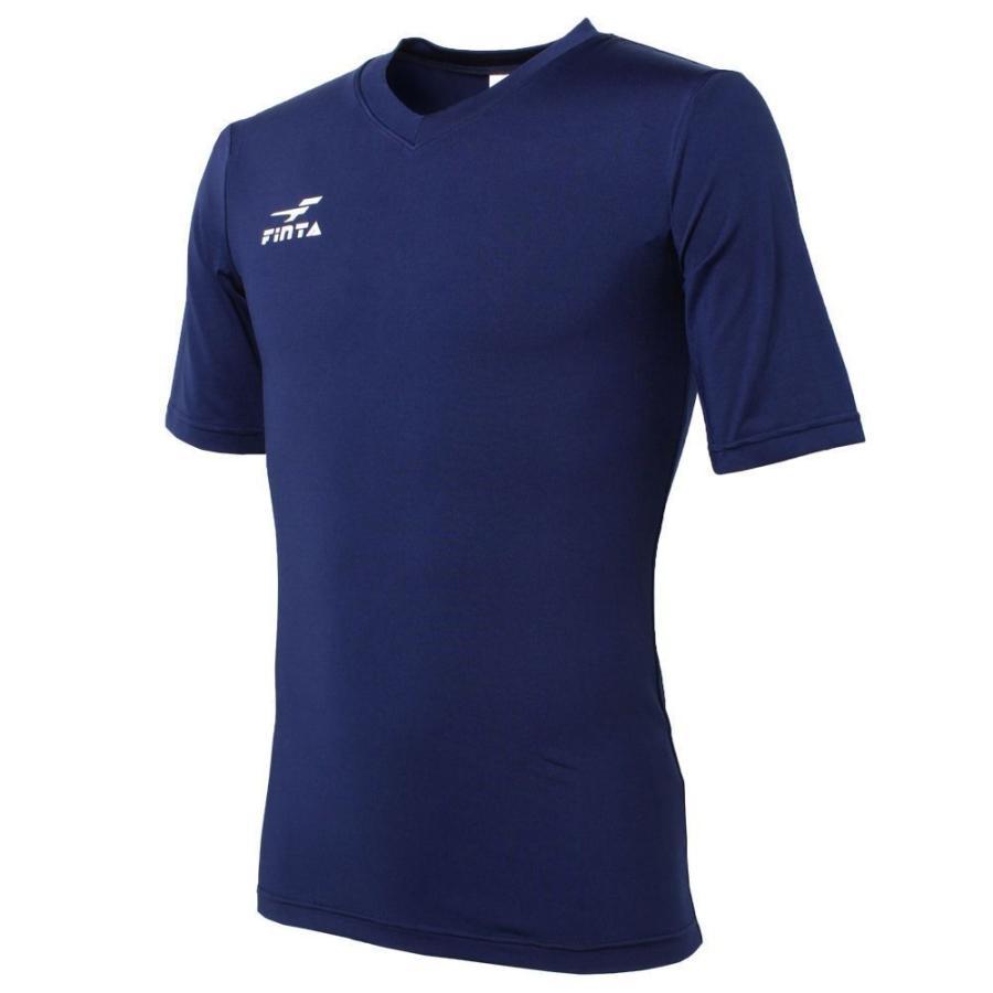 フィンタ FINTA コンプレッション Vネック ジュニア 半袖 インナーシャツ FTW7111 sblendstore 09