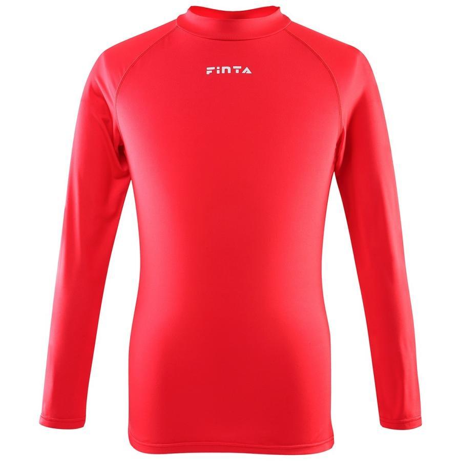 送料無料 フィンタ FINTA サッカー フットサル ジュニア ハイネックインナーシャツ FTW7028 全14色 sblendstore 14