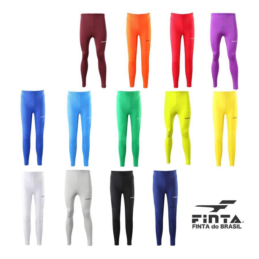 送料無料 フィンタ FINTA サッカー フットサル ジュニア ロングスパッツ FTW7030 全13色|sblendstore