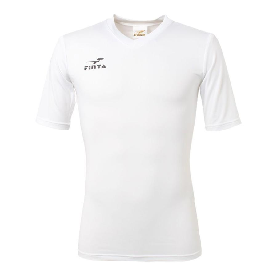 フィンタ FINTA コンプレッション Vネック 半袖 インナーシャツ FTW7110|sblendstore|02