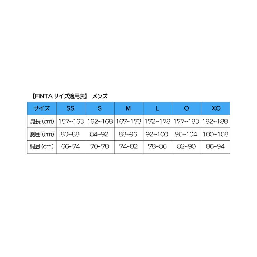 フィンタ FINTA コンプレッション Vネック 半袖 インナーシャツ FTW7110|sblendstore|11