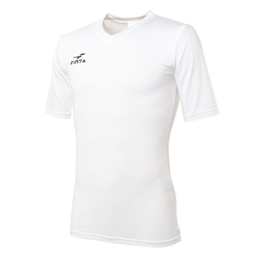 フィンタ FINTA コンプレッション Vネック 半袖 インナーシャツ FTW7110|sblendstore|03