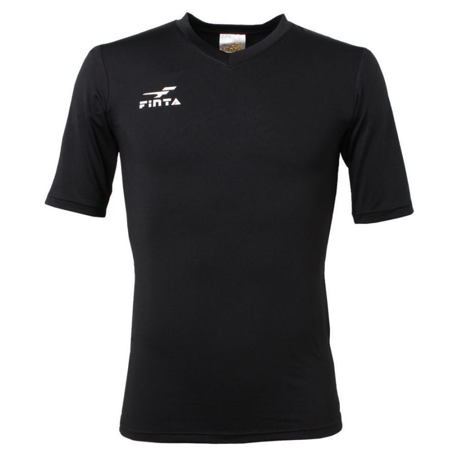 フィンタ FINTA コンプレッション Vネック 半袖 インナーシャツ FTW7110|sblendstore|05
