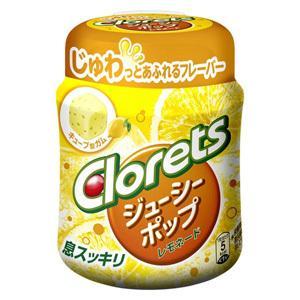 訳あり 特価 モンデリーズ クロレッツ ファッション通販 ジューシーポップ 126g 菓子 レモネード ボトル 日本製