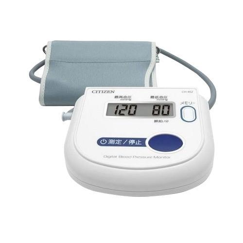 ●手数料無料!! シチズン CH452-WH 上腕式 1台 電子血圧計 激安特価品