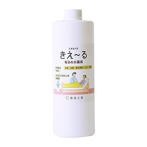 環境ダイゼン バイオ消臭液 きえーる介護用 詰替用 透明 ディスカウント T 消臭 抗菌 1L 優先配送 分解