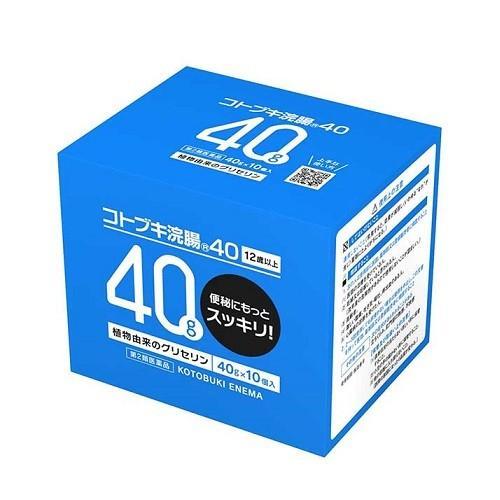 セール開催中最短即日発送 第2類医薬品 A ムネ製薬 爆売りセール開催中 コトブキ浣腸 40g×10個 40