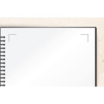 楽譜貼付用ブック はる楽の〜と 無地 中紙 上質紙 20枚入り ファイル ノート 譜面 schooltown 03