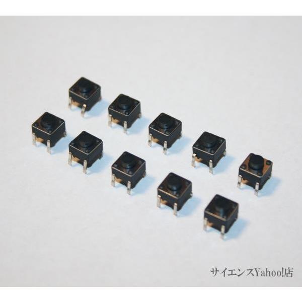 タクトスイッチ 10個入りセット 購買 6x6x5mm 即出荷 000円以上送料無料 購入合計1