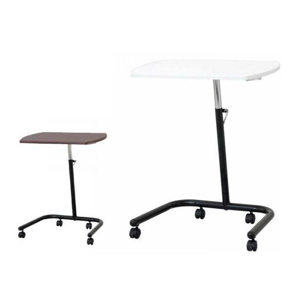 ナカバヤシ キャスターテーブル高さ可変タイプ FDC-202/キャスター付きで移動もラクラク♪/家具 イス テーブル テーブル