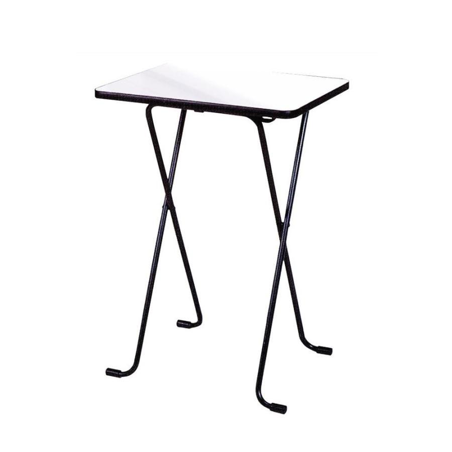 ルネセイコウ ハイテーブル ニューグレー・ブラック 日本製 完成品 WT-82/折りたたみ式ハイテーブル。/家具 イス WT-82/折りたたみ式ハイテーブル。/家具 イス テーブル