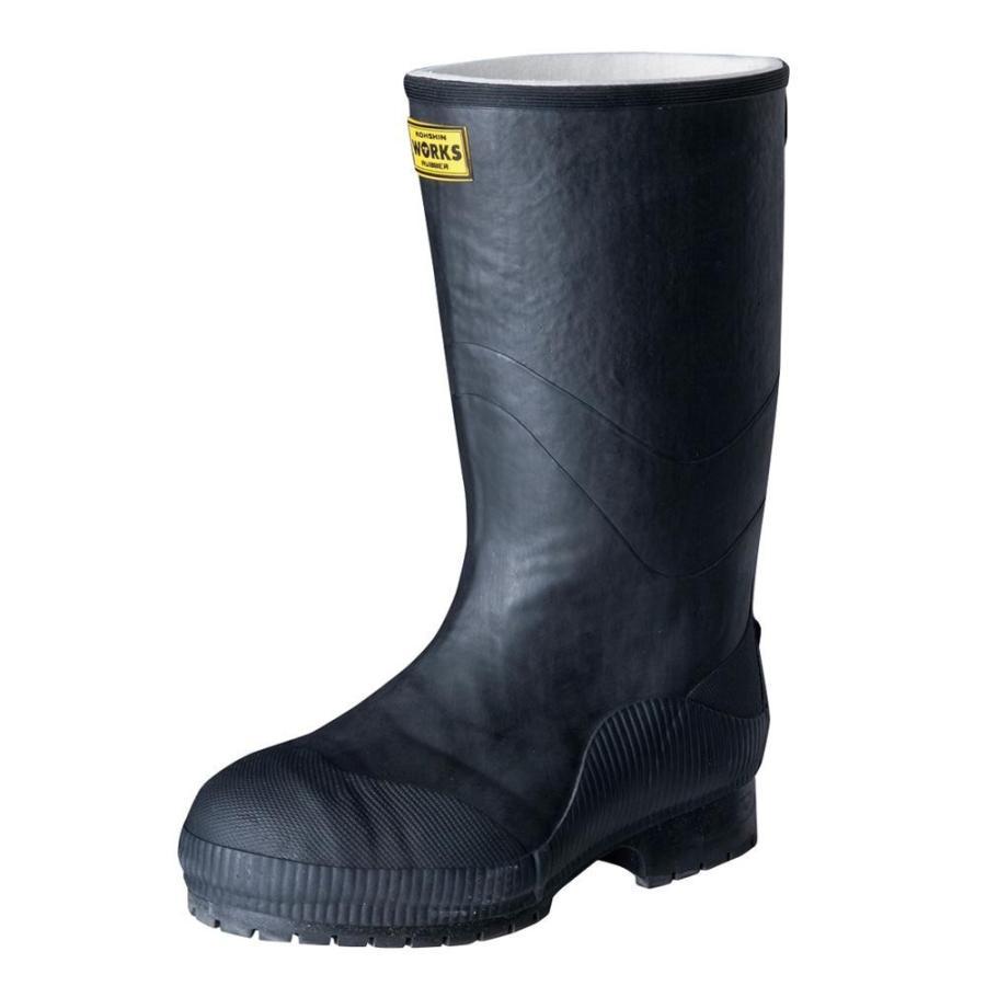 弘進ゴム 長靴(ゴム製) ライトセーフティーワークス LSW-02 黒 28.0cm A0020AC/先芯入りで使いやすい長靴。/ガーデニング・花・植物・DIY