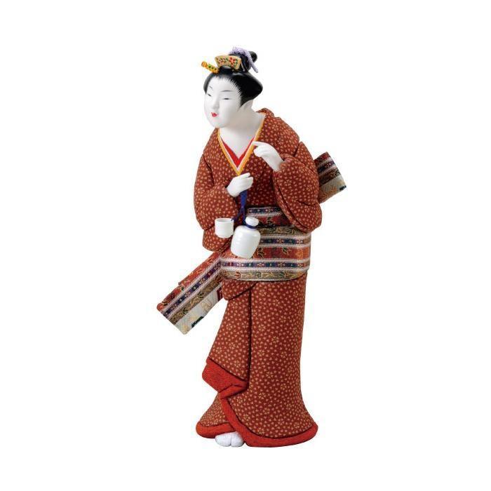 01-579 ほろ宵 セット/美しいお顔の木目込み人形。/玩具