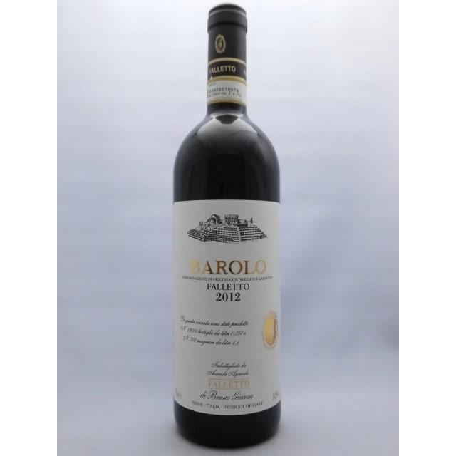 高評価PP93+点 バローロ・ファレット BAROLO FALLETTO / ブルーノ・ジャコーザ BRUNO GIACOSA 2012年 750ml