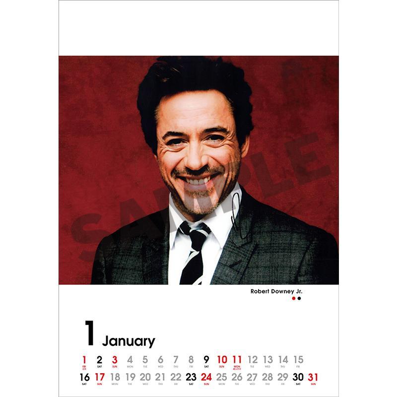SCREEN collections カレンダー 2021 ハリウッドスター 【購入特典:ミニカレンダー付き】  《入荷済み》|screenstore|02