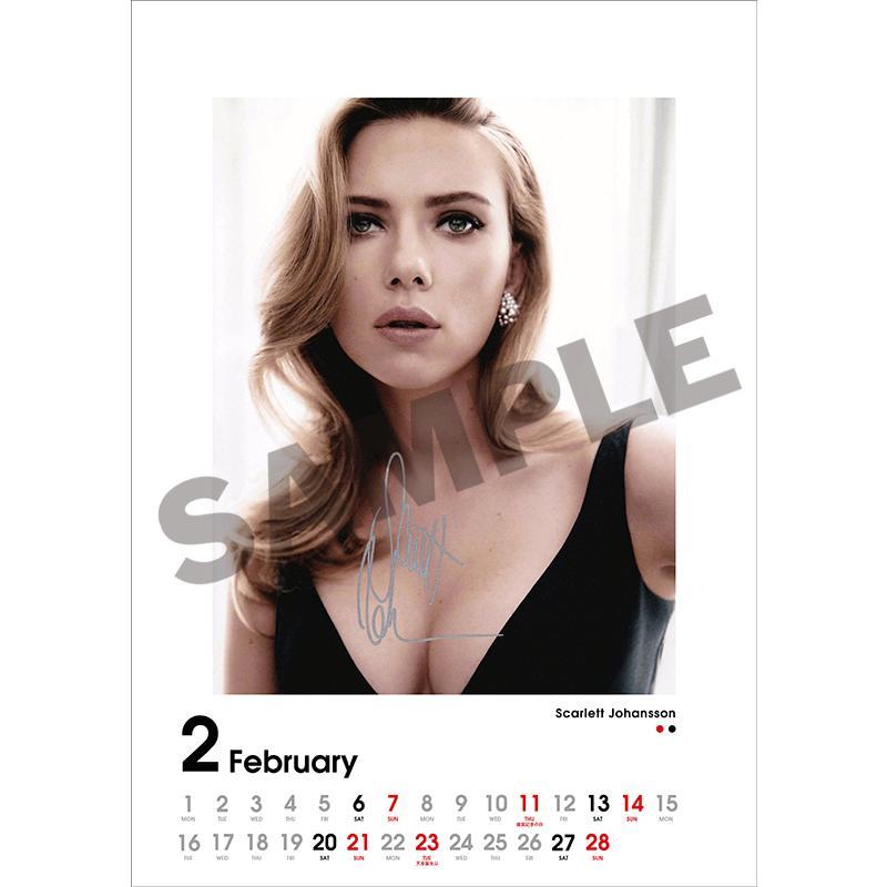 SCREEN collections カレンダー 2021 ハリウッドスター 【購入特典:ミニカレンダー付き】  《入荷済み》|screenstore|03
