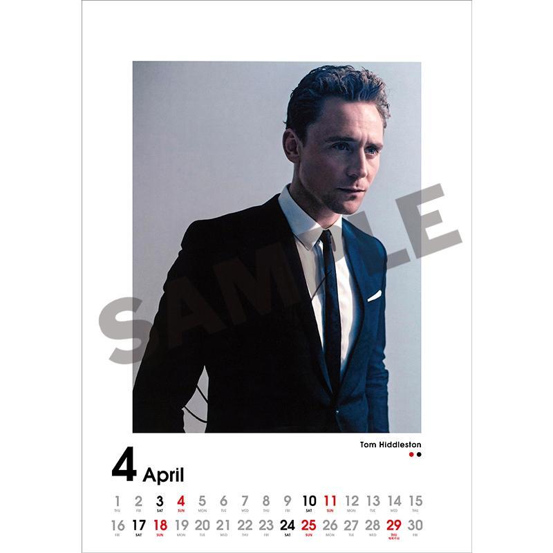 SCREEN collections カレンダー 2021 ハリウッドスター 【購入特典:ミニカレンダー付き】  《入荷済み》|screenstore|05