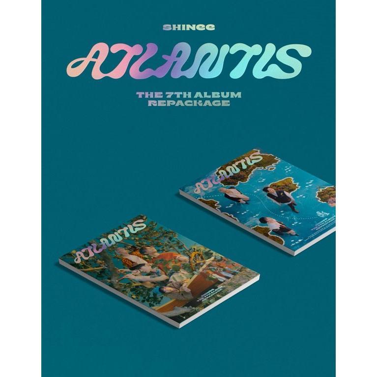 SHINee 7thアルバム リパッケージ - Atlantis CD (韓国盤)|scriptv|02