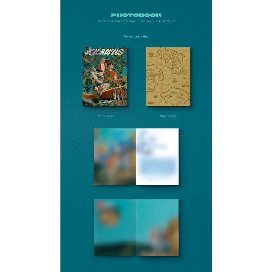SHINee 7thアルバム リパッケージ - Atlantis CD (韓国盤)|scriptv|03