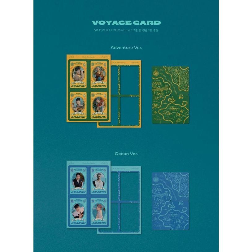 SHINee 7thアルバム リパッケージ - Atlantis CD (韓国盤)|scriptv|07